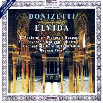 Elvida (Gaetano Donizetti) – Audio CD