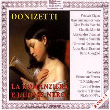 La Romanziera e l'Uomo Nero (Gaetano Donizetti) – Audio CD