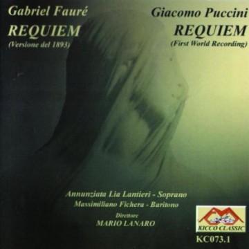 Requiem op.48 (1893 Gabriel Fauré) – Audio CD