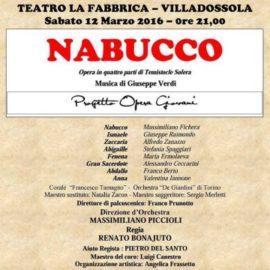 Il Nabucco a Villadossola